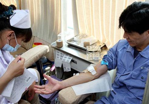 公司组织义务献血活动